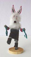 Kachina Doll | White Wolf | 8 Inch