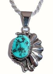 Turquoise Jewelry - Starburst Design Pendant