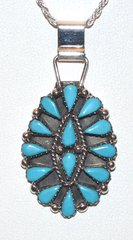 Turquoise Pinwheel Jewelry Made in America