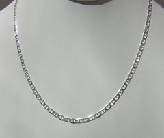 18 Inch Sterling Silver Figaro Chain