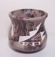 Horsehair Vase #24A