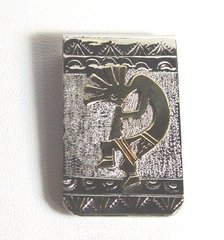 Kokopelli - 12K Gold Fill - Money Clip
