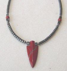 Red Jasper Arrowhead Native American Jewelry