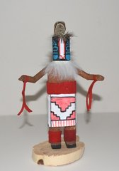 Kachina Doll - Badger - 7 Inch Tall