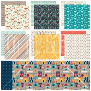 Echo park the story of our family 12x12 collection kit for Housse zip collection captur