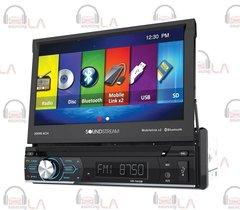 "SOUNDSTREAM VR-74H2B 7"" TV CD MP3 DVD BLUETOOTH USB 300W AMPLIFIER CAR STEREO"