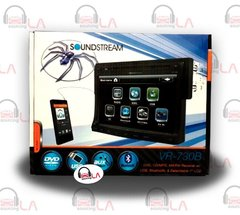 "Soundstream VR-730B 7"" Bluetooth CD MP3 DVD Indash Receiver"