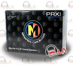 "MEMPHIS 15-PRX462 4"" x 6"" CAR AUDIO 2-WAY PEI DOME TWEETERS COAXIAL SPEAKERS"