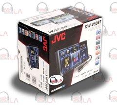 "Double Din 7"" DVD/CD 2-DIN IN-DASH RECEIVER W/ BLUETOOTH JVC KW-V50BT"
