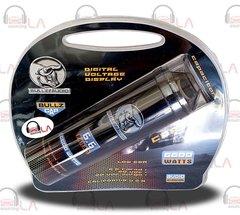 BULLZ AUDIO 6.6 FARAD DIGITAL VOLTAGE DISPLAY CAR STEREO POWER CAPACITOR