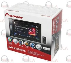 PIONEER AVH-X3800BHS DOUBLE DIN BLUETOOTH DVD HD 6.2'' CAR STEREO