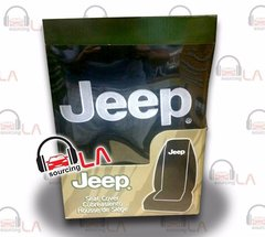 Jeep Elite Mopar Seat Covers Black Synthetic Leather Side Air bag Ready Set of 2