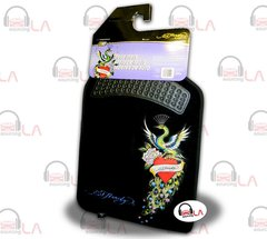 Ed Hardy Peacock Design 2 pc Floor Mat Set 800002166 BRAND NEW!!
