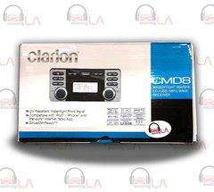 CLARION CMD8 CD MP3 WMA WATERTIGHT MARINE RECEIVER W/ AUX INPUT & REMOTE