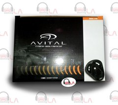 NEW AVITAL 3100 1-WAY CAR SECURITY ALARM SYSTEM TWO 3-BUTTON REMOTES 3100L