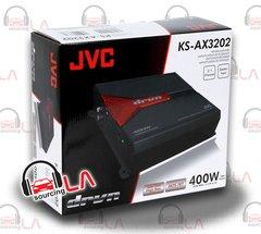 JVC KS-AX3202 150W RMS 2-Channel Class AB DRVN Series Car Power Amplifier