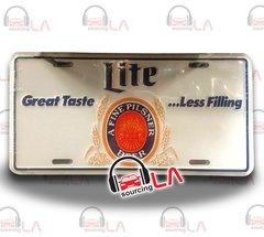 Lite Great TasteBeer Car License Plate