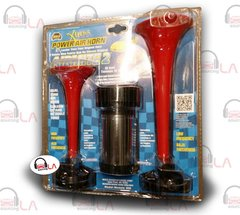Wolo Xtreme Power Air Horn Model 400 2-TWO TRUMPET WITH 12 VOLT COMPRESSOR