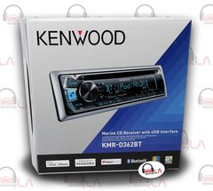 Kenwood KMR-D362BT Marine Radio CD/MP3 Stereo Bluetooth/USB/iPod Receiver