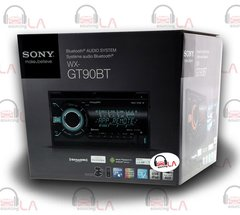 SONY WX-GT90BT 2-DIN CD MP3 USB AUX STEREO BLUETOOTH IPOD EQUALIZER PANDORA