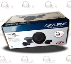 "Alpine SPR-50C 5.25"" 600W 2 Way Component Car Audio Speaker System"