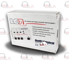 AUDIOCONTROL LC7i GREY 6-CHANNEL LINE OUTPUT CONVERTER WITH BASS RESTORATION