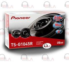 """Pioneer TS-G1045R 4"""" 210 Watt 2-Way Car Audio Speakers"""