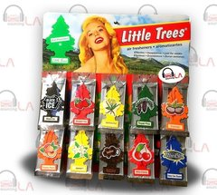 SET OF 6 PCS SALE!! Little Trees Car Home Office Hanging Air Freshener