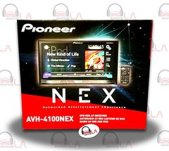 "PIONEER AVH-4100NEX 7"" DVD CAR RECEIVER w/ BLUETOOTH HD RADIO APPLE"