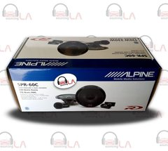 "Alpine SPR60C 660W 6.5"" 2 Way Component Car Audio Speaker System"