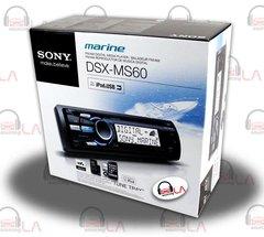 SONY DSXMS60 Marine AM FM MP3 WMA AAC Boat Audio Headunit