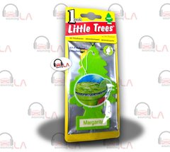 Little Trees Hanging Car and Home Air Freshener, Margarita(Pack of 24)