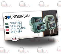 "Soundstream VHD-9GRDK Pair of 8.8"" Headrest Monitors DVD Players"