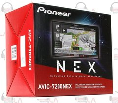 "PIONEER AVIC-7200NEX 7"" TV CD DVD BLUETOOTH GPS HDMI NAVIGATION HD CAR STEREO"