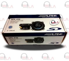 "Alpine SPS-410 2-Way 4"" Car Speakers System"