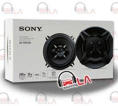 "SONY XS-FB1330 240W 5.25"" NEW CAR SPEAKERS 3 WAY COAXIAL PAIR"