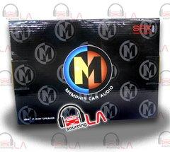 """MEMPHIS SRX462 4X6"""" 100W FULL RANGE SHALLOW MOUNT CAR STEREO SPEAKERS"""