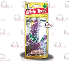 Little Trees Hanging Car and Home Air Freshener, Fresh Lilacs(Pack of 24)
