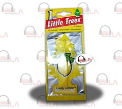 Little Trees Hanging Car and Home Air Freshener, Lively Lemon(Pack of 24)