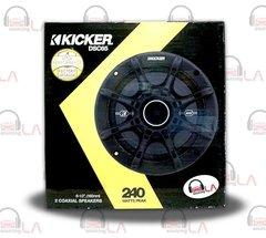 "Kicker 41DSC65 6-1/2"" D-Series Coaxial 2-Way Speaker With 1/2"" Tweeter"