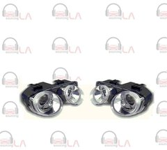 1994-1997 Acura Integra Angel Eye Projector Chrome/ Clear