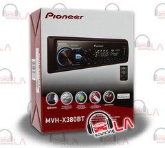 PIONEER MVH-X380BT SINGLE DIN DIGITAL MEDIA MP3 BLUETOOTH CAR STEREO RECEIVER