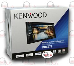 6.2 KENWOOD DDX272 DOUBLE DIN CD DVD EQ MP3