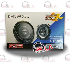 "KENWOOD KFC-1065S SPORT SERIES 4"" ROUND 2-WAY SPEAKERS"