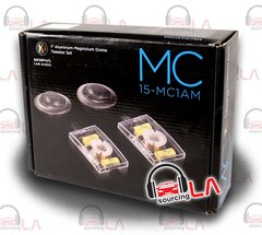 "MEMPHIS AUDIO 15-MC1AM 1"" DOME COMPONENT ALUMINUM TWEETER SET WITH CROSSOVERS"