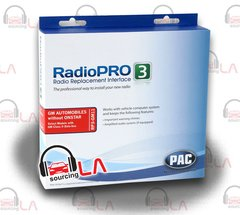 PAC RP3-GM11 RADIOPRO3 RADIO REPLACEMENT INTERFACE FOR GM W/O BOSE/ONSTAR