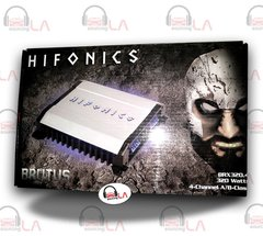 HIFONICS BRX320.4 320W 4 CHANNEL CLASS A/B CAR AUDIO STEREO AMPLIFIER