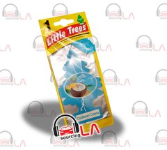 Little Trees Hanging Car and Home Air Freshener, Caribbean Colada(Pack of 24)
