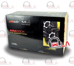 "POLK AUDIO MM6501 6.5"" 250W Car Audio Component Speakers System"