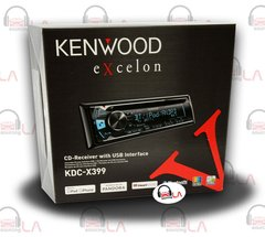 KENWOOD EXCELON KDC-X399 CD MP3 CAR STEREO EQ IPHONE USB AUX BLUETOOTH IPOD